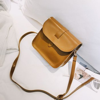 2017 New Shoulder Packet Elegant Design Messenger Crossbody Bag - BROWN