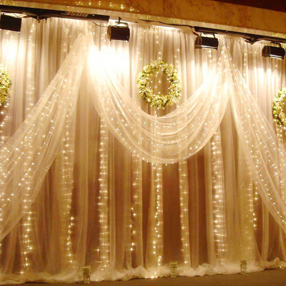 2018 SUPli 300 LED Window Curtain String Light for Wedding Party ...