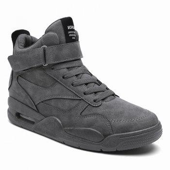High-Top Men'S Sports and Leisure Running Shoes - GRAY GRAY