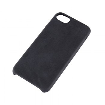 Crazy Horse Stripes   PU Leather Case for iPhone 7/8 - BLACK