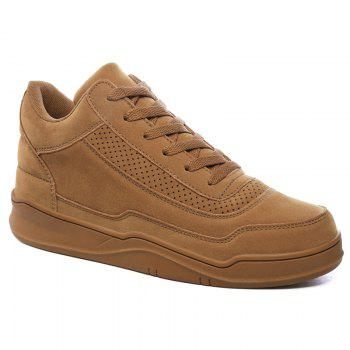 Vente chaude Hommes Solide Mode Sneakers