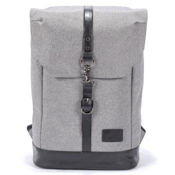 Fabric Bucket Stylish Large Space Matching Pu Fashion Casual Backpack