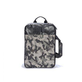 Camouflage Color Laptop Bag Big Space Handle Backpack  for Office Fashion Man - CAMOUFLAGE CAMOUFLAGE
