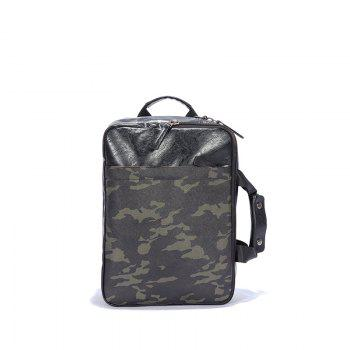 Big Space Laptop Bag  Handle Backpack Office Man Fashion Multifunction - CAMOUFLAGE GREEN CAMOUFLAGE GREEN