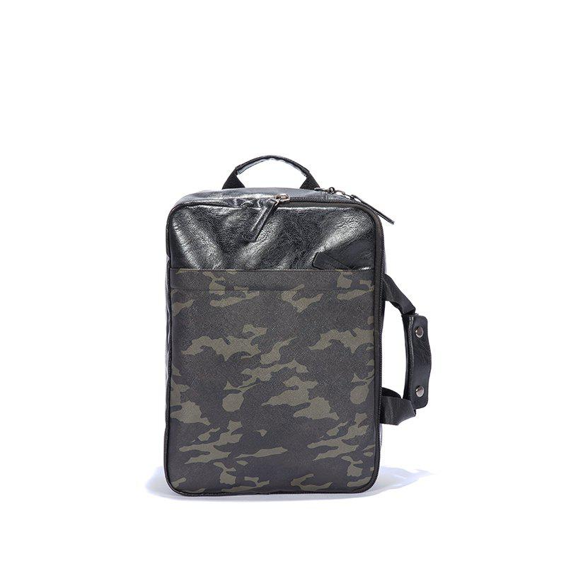 Big Space Laptop Bag  Handle Backpack Office Man Fashion Multifunction - CAMOUFLAGE GREEN