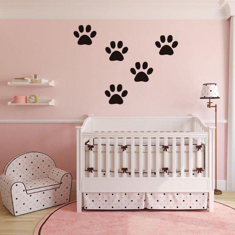 где купить DSU Funny Dog Cat Wall Sticker for Kids Room Home Decoration по лучшей цене