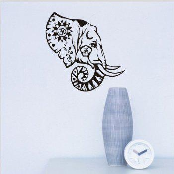 DSU Wall Sticker Decals for Home Decoration - BLACK 58X45CM