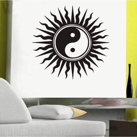 Autocollant mural DSU Creative Home Decor - Noir 57X54CM