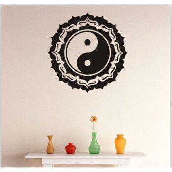 DSU Vinyl Bedroom Wall Sticker - BLACK BLACK