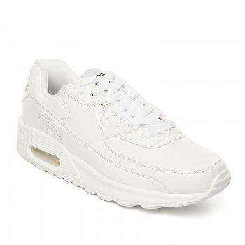 Men Casual New Design Walking Classic Trend for Fashion Leather Outdoor Shoes - WHITE WHITE