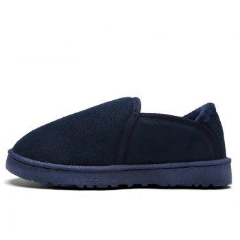 Men Casual Winter Warm Suede Trend for Fashion Shoes - BLUE BLUE