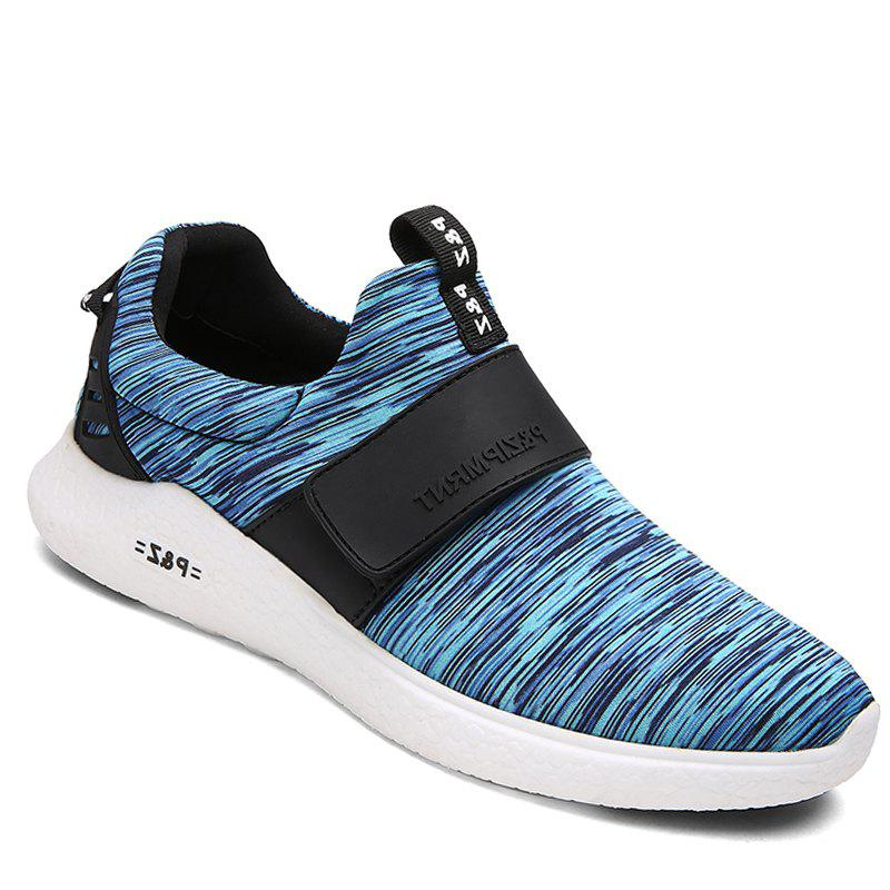 Men Running Breathable Height Increase Shoes Sneakers Sports - BLUE 40