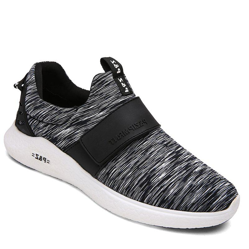 Men Running Breathable Height Increase Shoes Sneakers Sports - BLACK 40