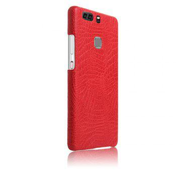 XY3 Mobile Phone Protective Sleeve Leather Crocodile Tattoo Stickers for HUAWEI P9 Plus -  RED