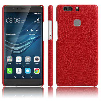 XY3 Mobile Phone Protective Sleeve Leather Crocodile Tattoo Stickers for HUAWEI P9 Plus - RED RED