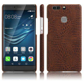 XY3 Mobile Phone Protective Sleeve Leather Crocodile Tattoo Stickers for HUAWEI P9 Plus - BROWN BROWN