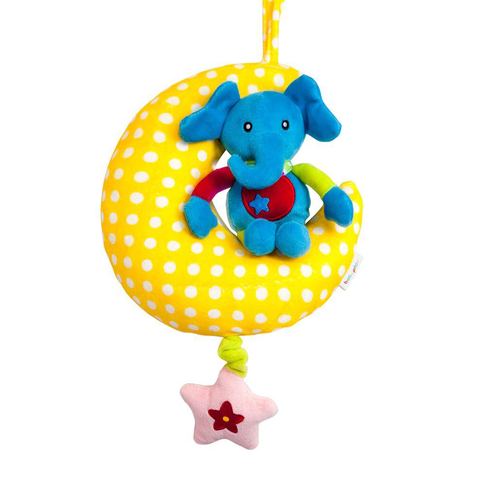 24CM Moon Animal Music Pull Bell - COLORMIX TYPEB