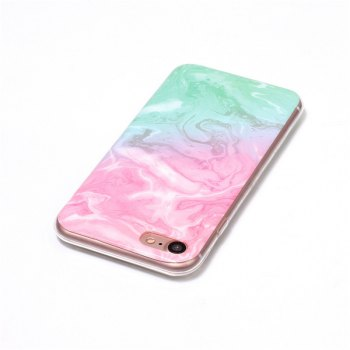 Marble Pattern IMD TPU Back Cover Case for iPhone 7 / 8 - multicolorCOLOR