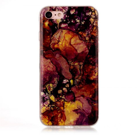 Marble Pattern TPU Back Cover Case for iPhone 7 / iPhone 8 - multicolorCOLOR