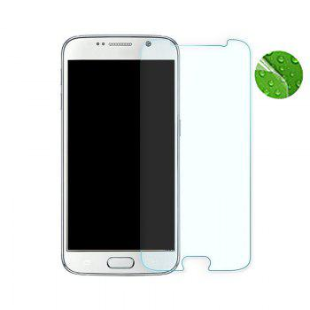 HD Mobile Phone Protective Film Scratch HD Tape Packaging for Samsung S6 Edge - TRANSPARENT TRANSPARENT