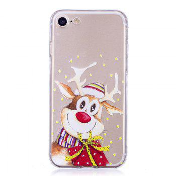 Santa Claus Christmas Deer Phone Sets for iPhone 7 Plus