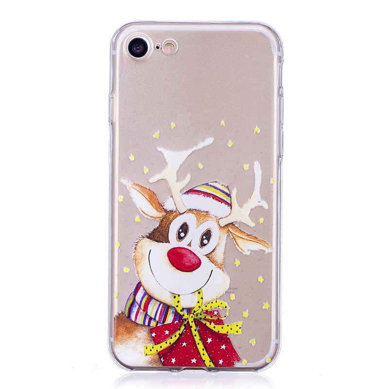Santa Claus Christmas Deer Phone Sets for iPhone 7 Plus inflatable cartoon customized advertising giant christmas inflatable santa claus for christmas outdoor decoration