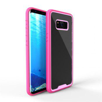 Anti Scraping Mobile Phone Shell for Samsung S8 Plus - PINK