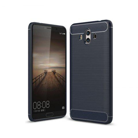 Carbon Fiber Drawing Package All Mobile Phone Protection Case for Huawei Mate10 - DEEP BLUE
