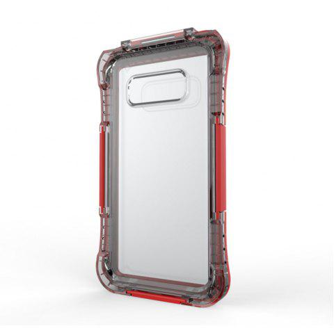 Drop Waterproof Phone Protection Case for Samsung Note8 - RED