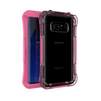 Drop Waterproof Phone Protection Case for Samsung Note8 - PINK