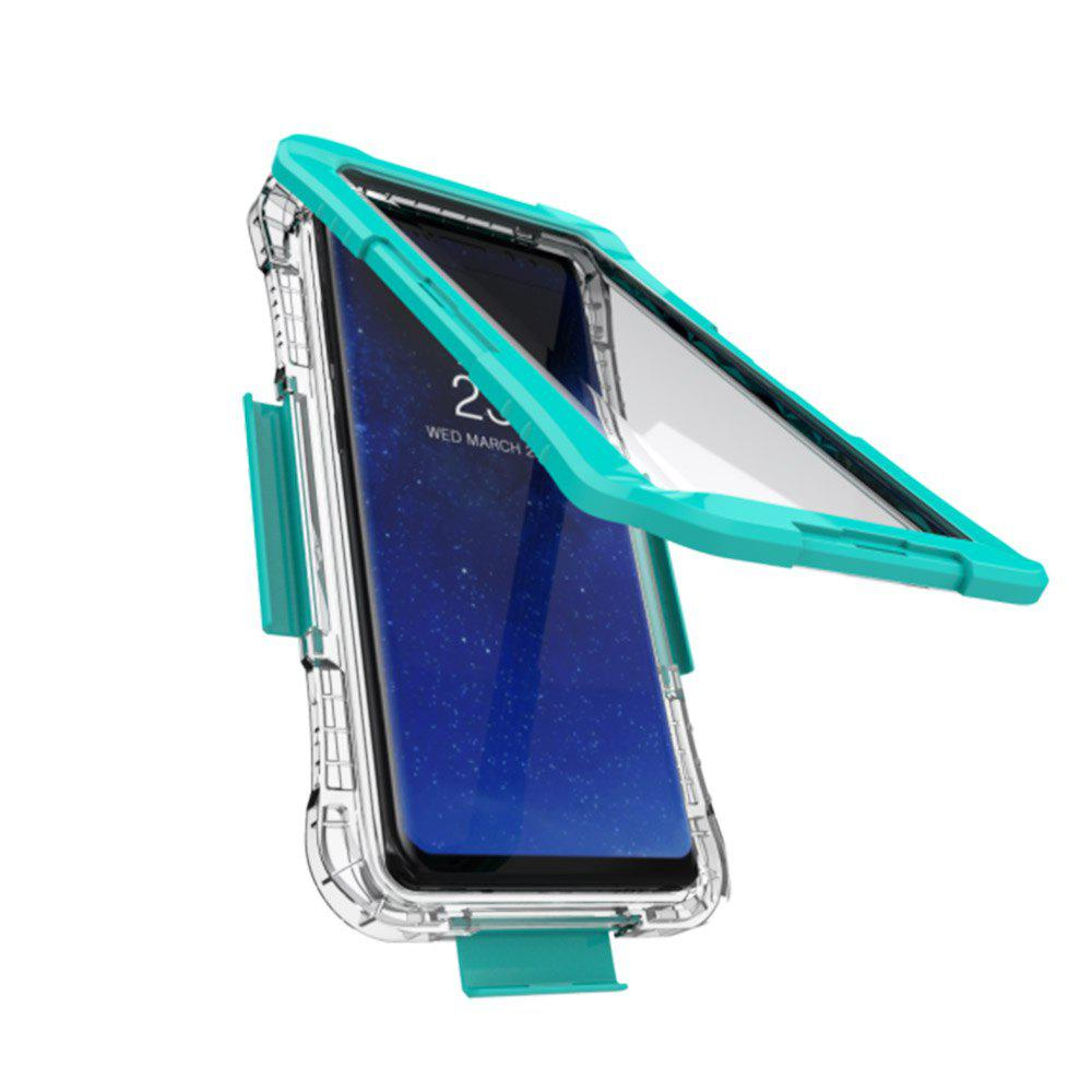 Drop Waterproof Phone Protection Case for Samsung Note8 - GREEN