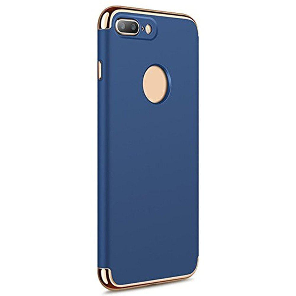 3 in 1 Hybrid Hard Plastic Case Ultra Thin and Slim Anti-Scratch Matte Finish Cover for iPhone 7 / 8 Case - BLUE
