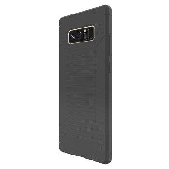 Dustproof Back Cover Solid Color Soft TPU for Samsung Galaxy Note 8 Case -  GRAY