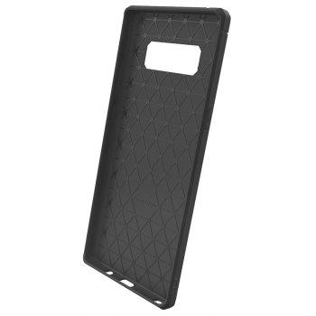 Dustproof Back Cover Case Solid Color Soft TPU for Samsung Galaxy Note 8 - GRAY