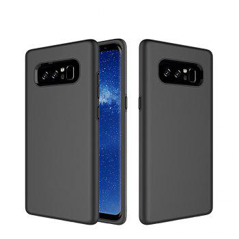 For Samsung Galaxy Note 8 Case Cover Luxury  PC+TPU Hybrid Protection - BLACK BLACK