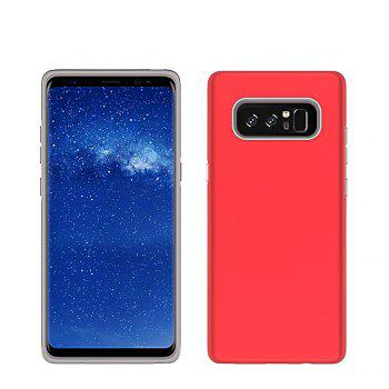 For Samsung Galaxy Note 8 Case Cover Luxury  PC+TPU Hybrid Protection - RED RED