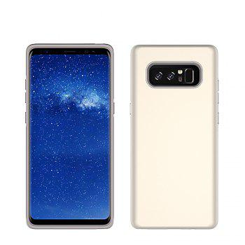For Samsung Galaxy Note 8 Case Cover Luxury  PC+TPU Hybrid Protection - GOLDEN GOLDEN
