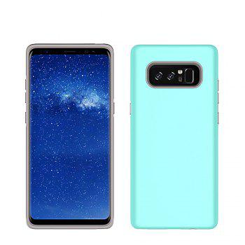 For Samsung Galaxy Note 8 Case Cover Luxury  PC+TPU Hybrid Protection - GREEN GREEN