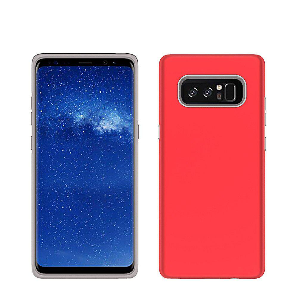 For Samsung Galaxy Note 8 Case Cover Luxury  PC+TPU Hybrid Protection - RED