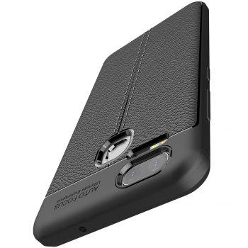 ASLING Lichee Skin Anti-drop Cover Case for ASUS Zenfone 3 Zoom (ZE553KL) -  BLACK
