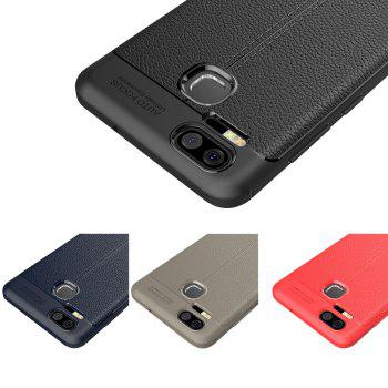 ASLING Lichee Skin Anti-drop Cover Case for ASUS Zenfone 3 Zoom (ZE553KL) -  CADETBLUE