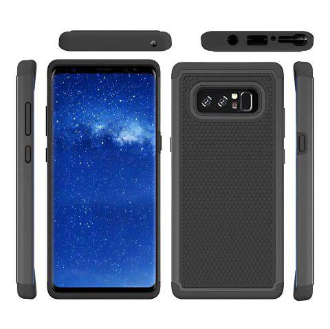 2 in 1 Ball Pattern Tough Protective Case Cover Skin for Samsung Galaxy Note8 - BLACK