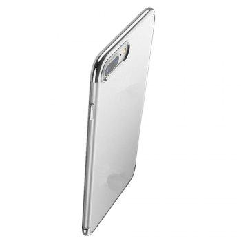 Clear Soft Silicone TPU Skin Phone Case Cover for iPhone 7 Plus /  8 Plus - GRAY