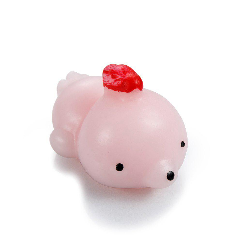 Novel Design Hand Pinch Doll for Pressure Reducing - BRIGHT PINK