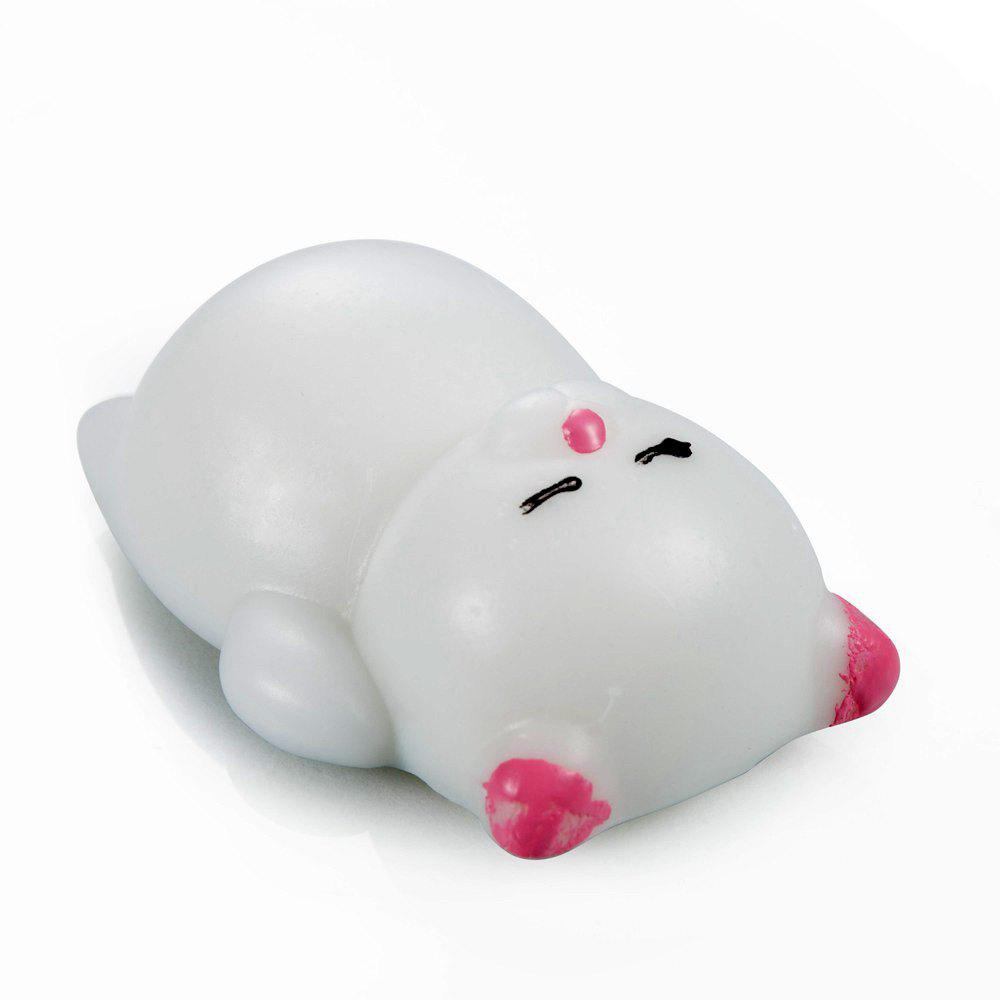 Novel Design Hand Pinch Doll for Pressure Reducing - PINK / WHITE