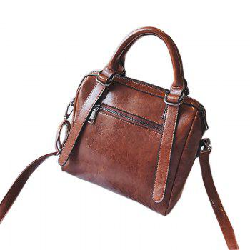 Autumn and Winter New Lady Handbag Fashion Casual Shoulder Messenger Bag - BROWN