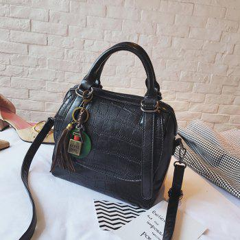 Autumn and Winter New Lady Handbag Fashion Casual Shoulder Messenger Bag -  BLACK