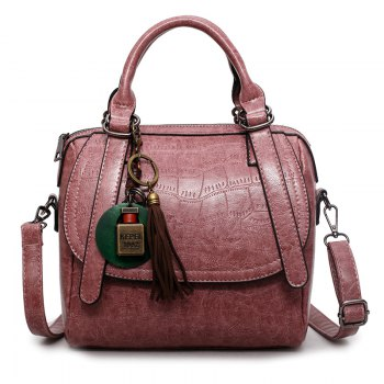 Autumn and Winter New Lady Handbag Fashion Casual Shoulder Messenger Bag - PINK PINK