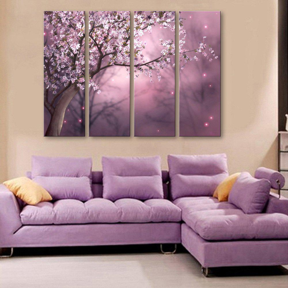 Special Design Frameless Paintings The plum blossom in dream Pattern 4PCS duncan bruce the dream cafe lessons in the art of radical innovation