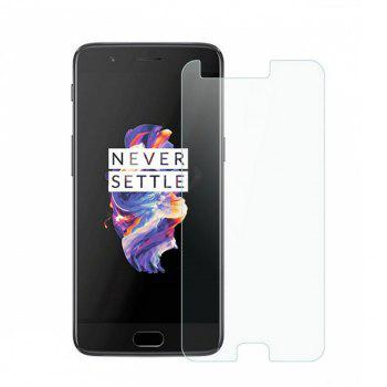 2.5D 9H Hardness Tempered Glass Screen Protector for OnePlus 5 - TRANSPARENT TRANSPARENT